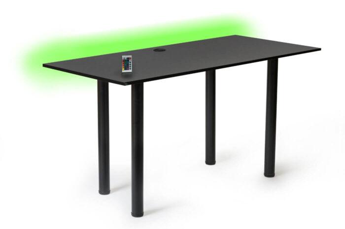 biurko gamingowe led